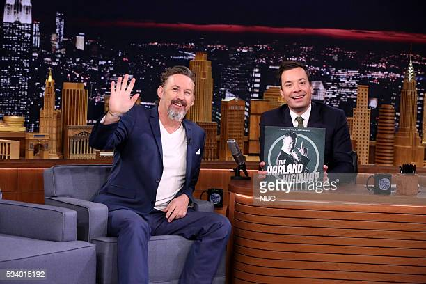 Comedian Harland Williams during an interview with host Jimmy Fallon on May 24 2016