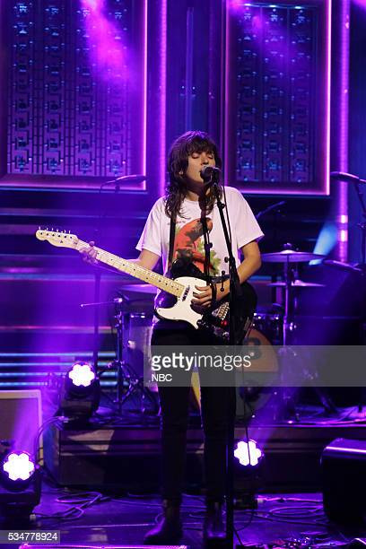 Musical guest Courtney Barnett performs on May 27 2016