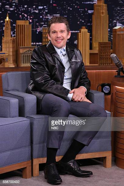 Actor Ethan Hawke during an interview on June 7 2016