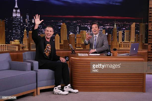Actor Freddie Prinze Jr during an interview with host Jimmy Fallon on June 7 2016