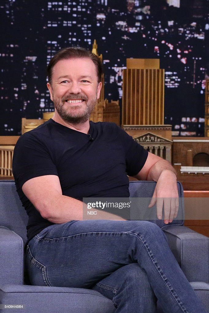 "NBC's ""The Tonight Show Starring Jimmy Fallon"" with guests Ricky Gervais, Tony Hale, Brian Regan"