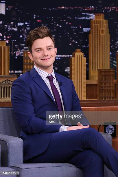 Actor Chris Colfer on July 11 2016