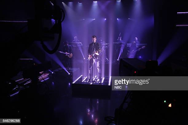 Musical guest Shawn Mendes performs on July 11 2016