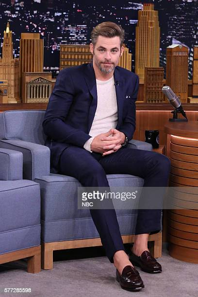 Actor Chris Pine on July 18 2016