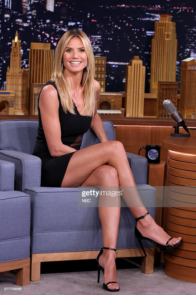 "NBC's ""Tonight Show Starring Jimmy Fallon"" with guests Idris Elba, Heidi Klum, Lukas Graham"