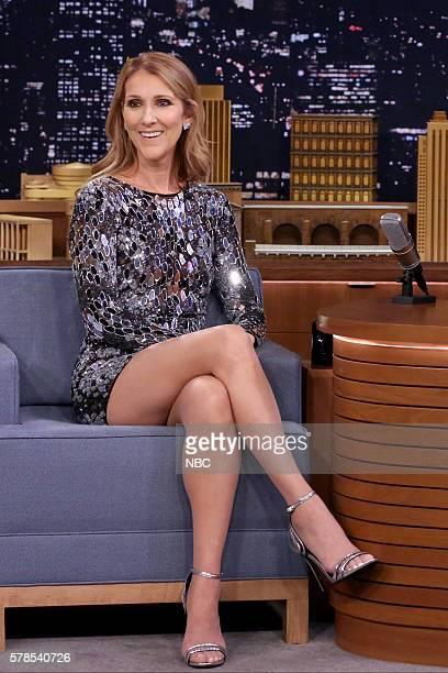Singer Céline Dion on July 21 2016