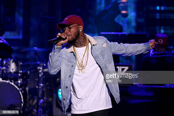 Rapper Tory Lanez performs with musical guest GEazy on July 25 2016