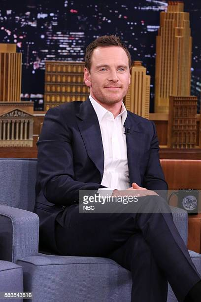 Actor Michael Fassbender on July 26 2016