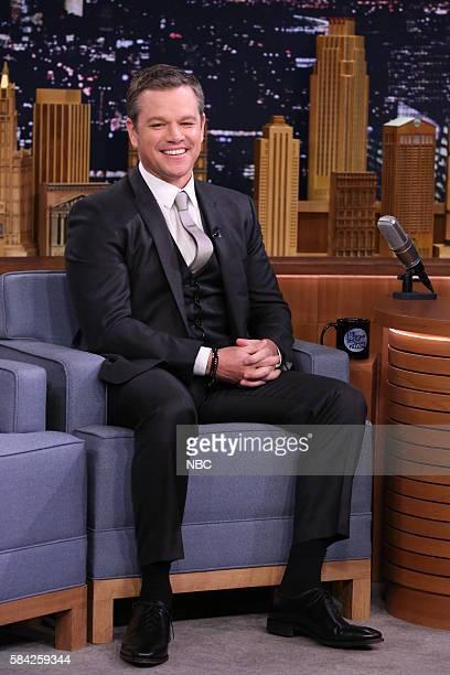 Actor Matt Damon on July 27 2016
