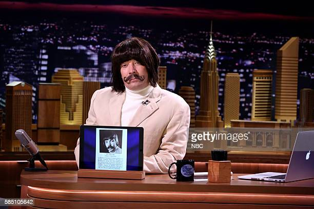 Host Jimmy Fallon during the Screen Grabs segment on August 1 2016