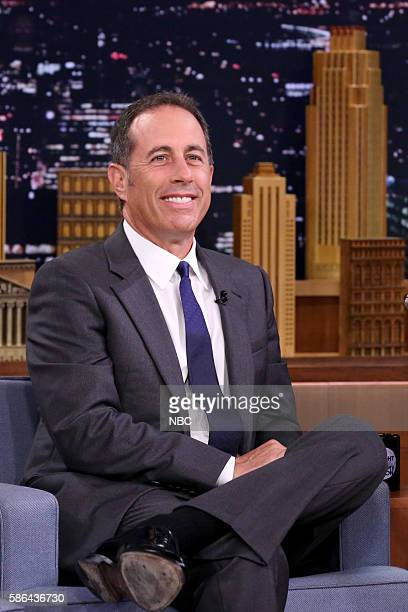 Comedian Jerry Seinfeld during an interview on August 5 2016