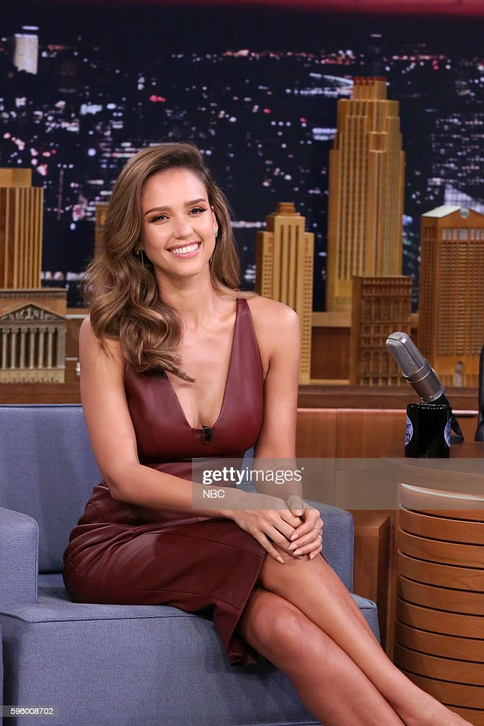 "NBC's ""The Tonight Show Starring Jimmy Fallon"" with guests Jessica Alba, Jeff Foxworthy"
