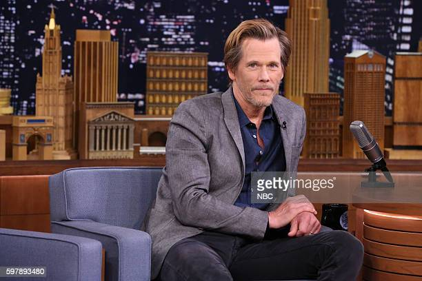 Actor Kevin Bacon during an interview on August 29 2016