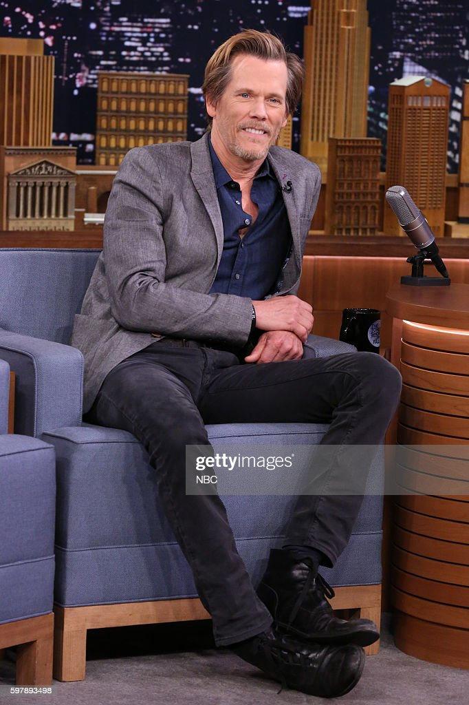 """NBC's """"The Tonight Show Starring Jimmy Fallon"""" with guests Kevin Bacon, Meghan Trainor, Yo Gotti"""