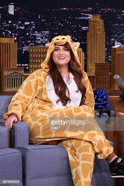 Singer Meghan Trainor during an interview on August 29 2016