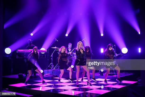 Musical guest Zara Larsson performs on September 1 2016