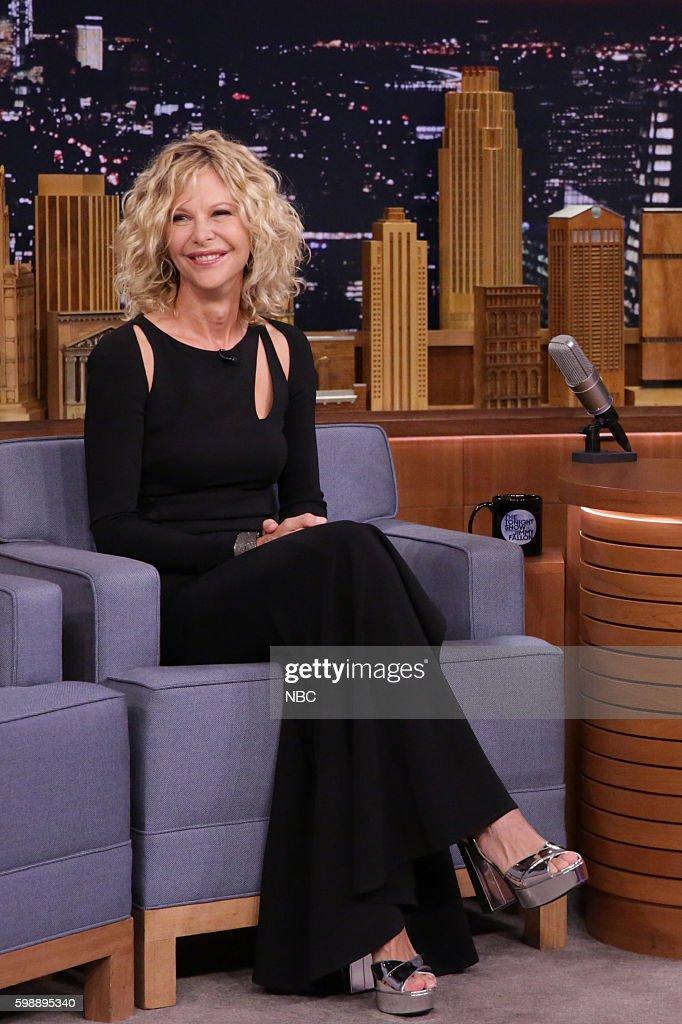 "NBC's ""The Tonight Show Starring Jimmy Fallon"" with guests Meg Ryan, Nick Kroll, John Mulaney, Dan White"