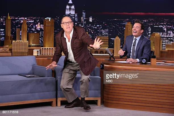Actor James Spader during an interview with host Jimmy Fallon on September 9 2016