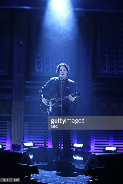Musical guest Jack White performs on September 9 2016