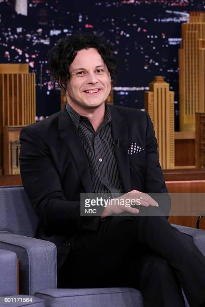 Musician Jack White during an interview on September 9 2016