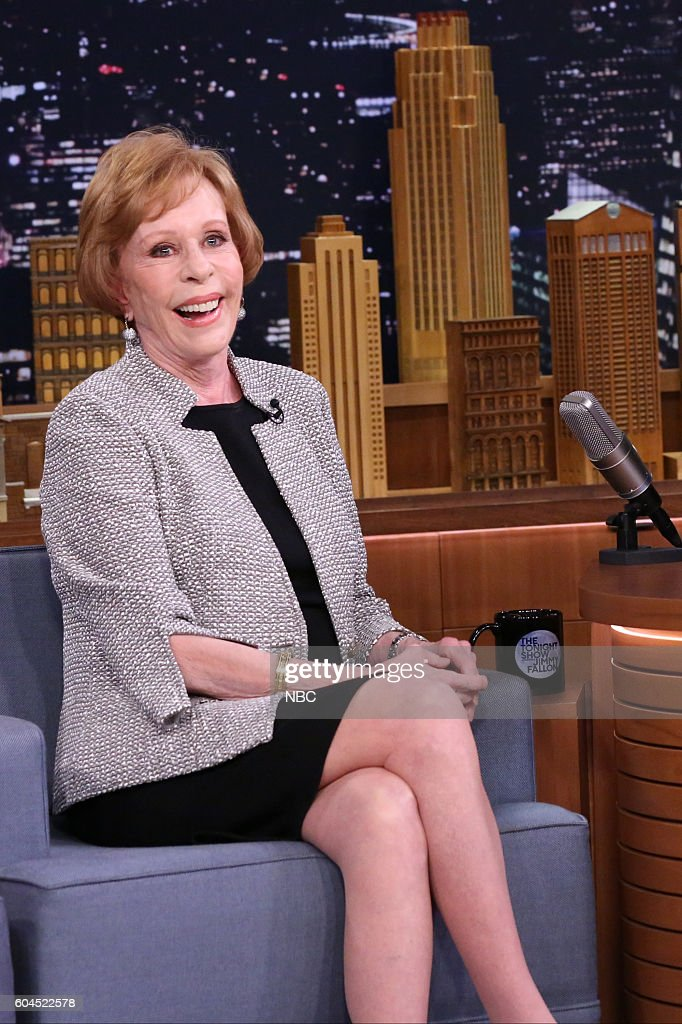 Actress Carol Burnett during an interview on September 13, 2016 --
