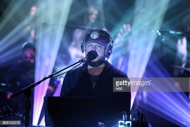 Justin Vernon of musical guest Bon Iver performs on September 14 2016