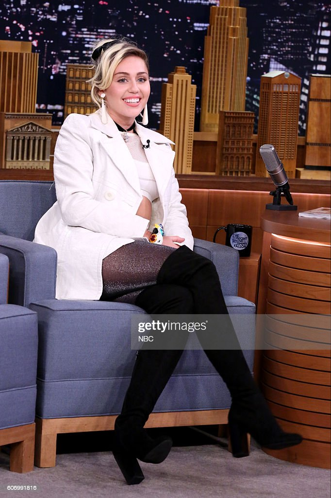 "NBC's ""The Tonight Show Starring Jimmy Fallon"" with guests Miley Cyrus"