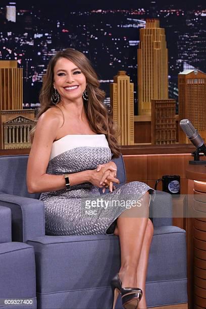 Actress Sofía Vergara during an interview on September 20 2016