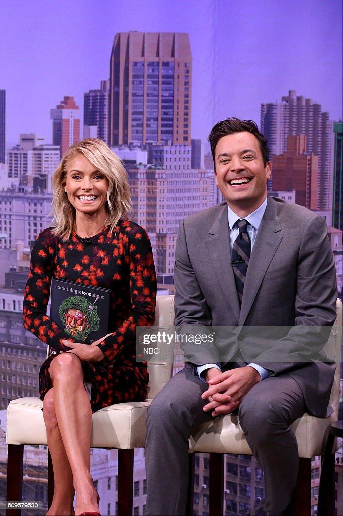 "NBC's ""The Tonight Show Starring Jimmy Fallon"" with guests Kelly Ripa, Priyanka Chopra, Band of Horses"