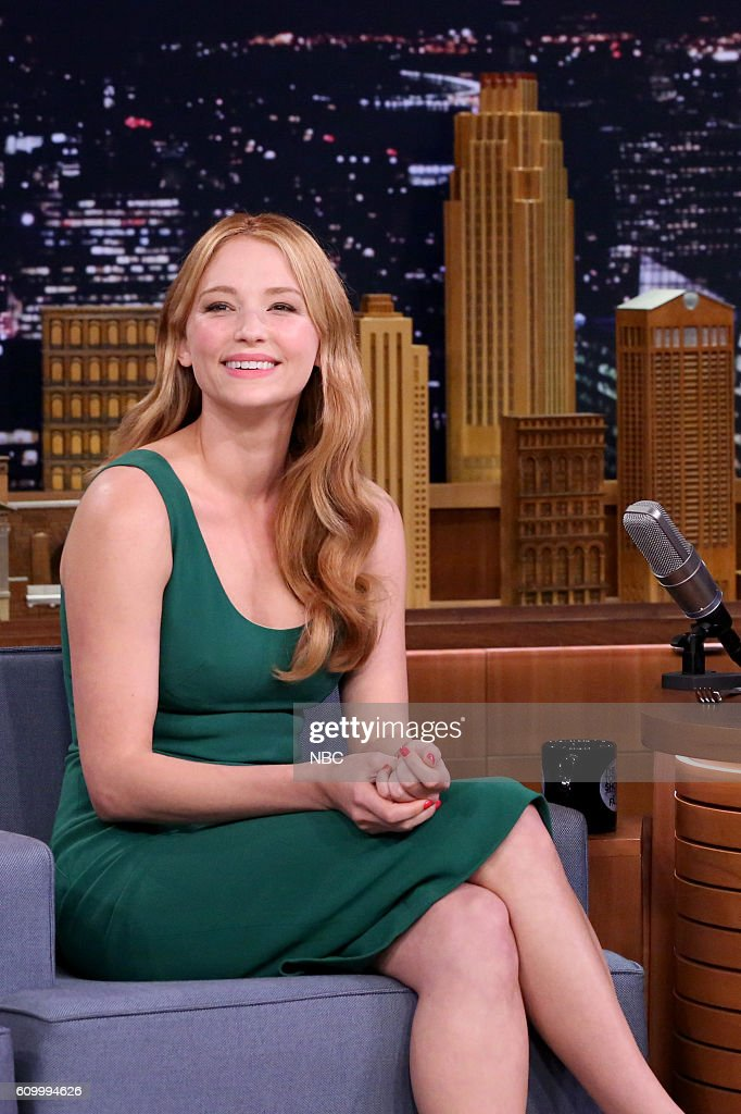 """NBC's """"The Tonight Show Starring Jimmy Fallon"""" with guests Will Forte, Haley Bennett, Grace Vanderwaal"""