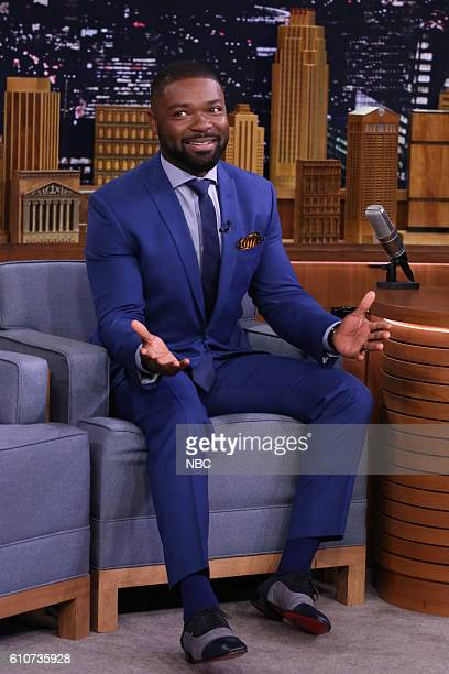 Actor David Oyelowo during an interview on September 27 2016
