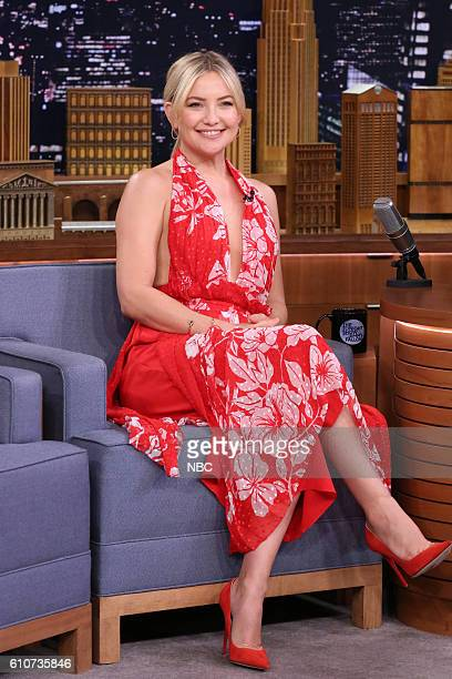 Actress Kate Hudson during an interview on September 27 2016