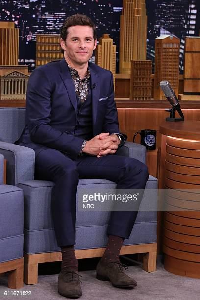 Actor James Marsden during an interview on September 30 2016