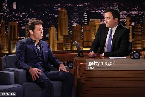 Actor James Marsden during an interview with host Jimmy Fallon on September 30 2016