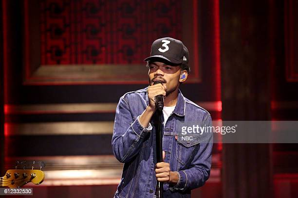 Musical guest Chance the Rapper performs on October 3 2016