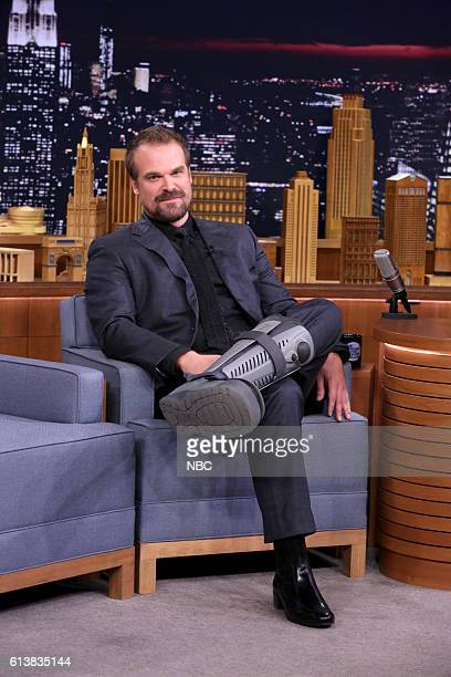 Actor David Harbour on October 10 2016
