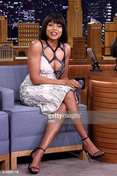 Actress Taraji P Henson on October 10 2016