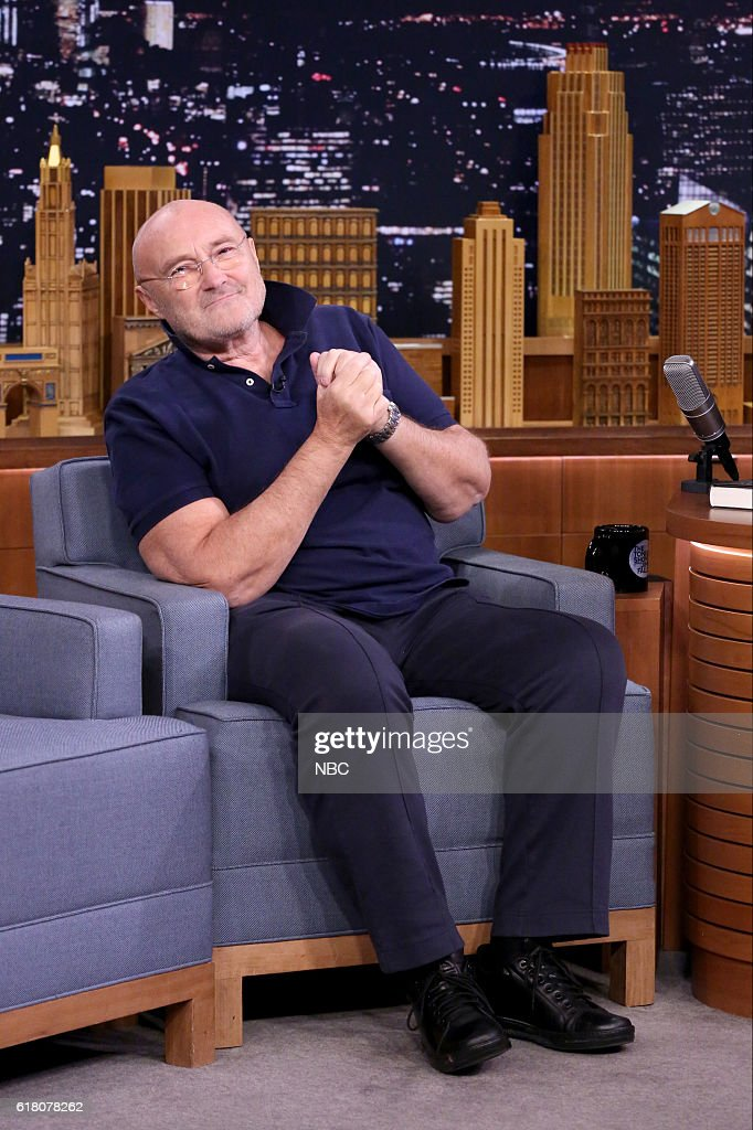 "NBC's ""The Tonight Show Starring Jimmy Fallon"" with guests Ethan Hawke, Phil Collins"