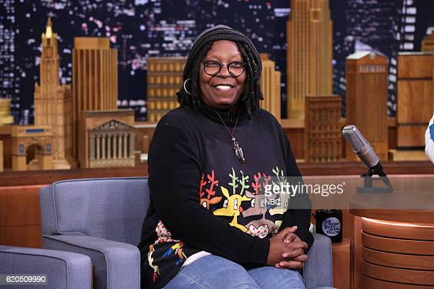 Actress Whoopi Goldberg during an interview on November 1 2016
