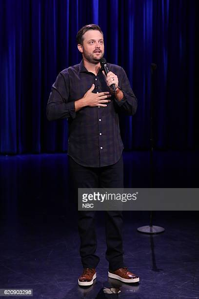 Comedian Nate Bargatze performs on November 2 2016
