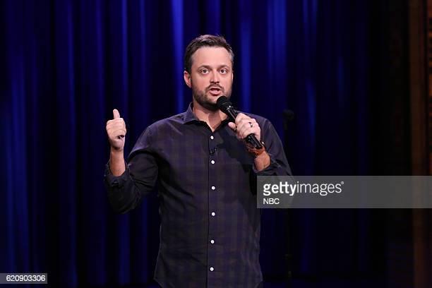 Comedian Nate Bargatze performs on November 2 2016
