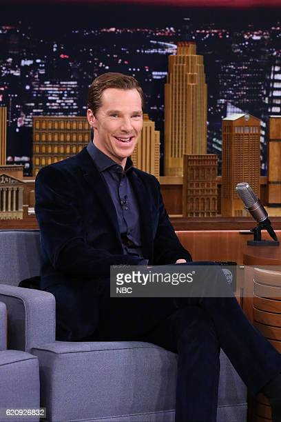Actor Benedict Cumberbatch during an interview on November 3 2016