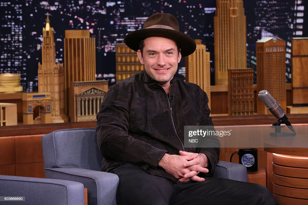 "NBC's ""The Tonight Show Starring Jimmy Fallon"" with guests Jude Law, Sterling K. Brown, Macklemore ft. Ariana Deboo"