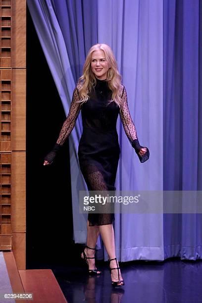 Actress Nicole Kidman arrives on November 17 2016