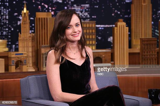 Episode 0579 -- Pictured: Actress Alexis Bledel during an interview on November 28, 2016 --