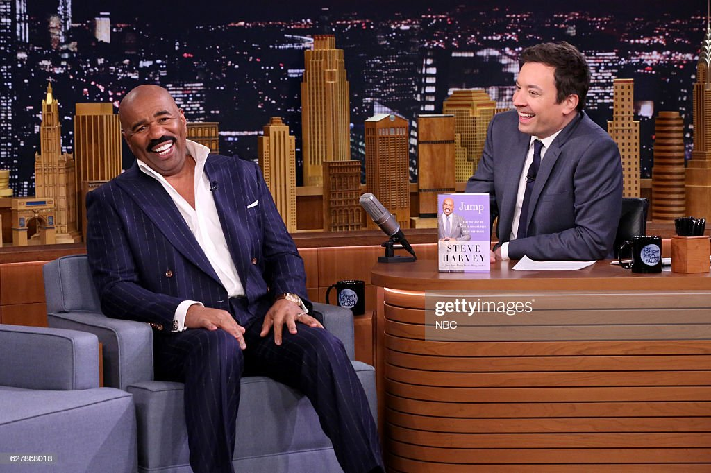 "NBC's ""The Tonight Show Starring Jimmy Fallon"" with guests Annette Bening, Steve Harvey, Hamilton Mixtape"