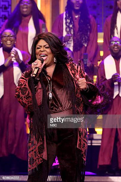 Musical guest Kim Burrell performs on December 08 2016