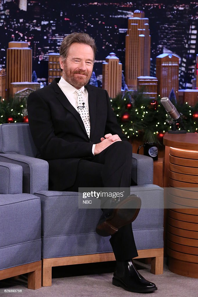 Actor Bryan Cranston during an interview on December 12, 2016 --