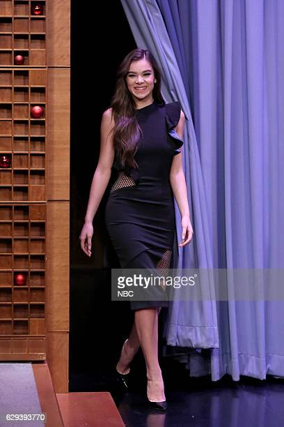 Actress Hailee Steinfeld arrives on December 12 2016
