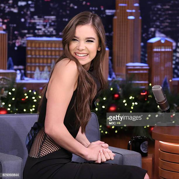 Actress Hailee Steinfeld during an interview on December 12 2016